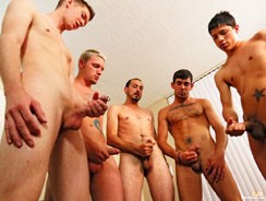 gay sex - Glazed Muffin from Circle Jerk Boys
