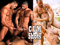 gay sex - Cumshots Volume 1 from Titan Men