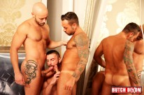 Bruno Fox Sergi And Georgi from Butch Dixon