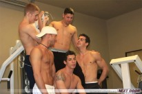 Hot Gym Orgy from Next Door World