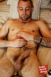 Mark White from Lads Next Door