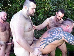 gay sex - Marc Angelo Carlo Cox Brad from Bear Films
