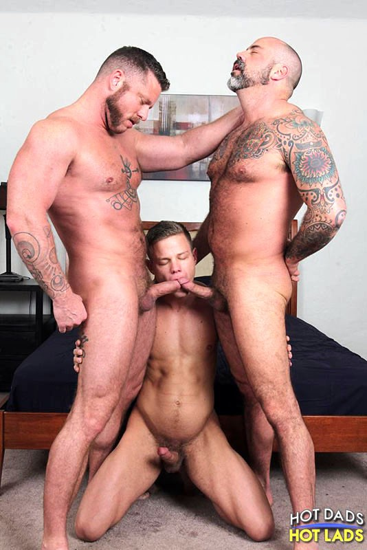 Nikko jordan fucks and sucks step daddy with a big cumshot load on chest 8
