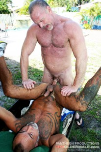 Bo Bangor And Mickey Collins from Hot Older Male
