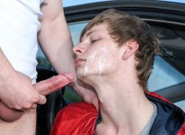 Hitchhiking For Outdoor Anal from Big Daddy