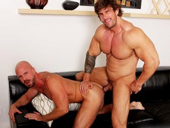 Zeb Atlas And Mitch Vaughn from Cocksure Men