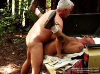 Hard Mountain Nature Boy from Hot Older Male