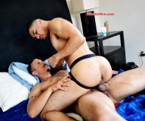 Fodido And Angel from Bi Latin Men