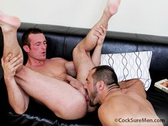 Arpad Miklos And Devin Draz from Cocksure Men