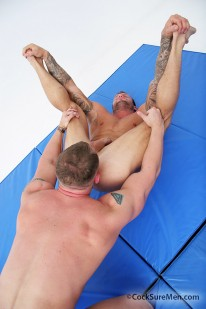 Bo Dean And John Magnum from Cocksure Men