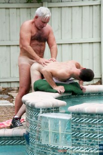 Kidd Manleigh And Steve Lucas from Hot Older Male