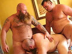 Gunner Scott Sid Morgan Rusty from Bear Films