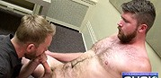 Swallowing Jesses Load from Suck Off Guys