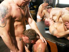 Amateur Daddy Orgy from Hot Older Male