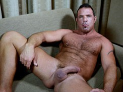 gay sex - Hairy Dilf from The Guy Site