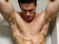 gay sex - Kristian from Frat Men