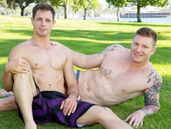 Dean And David Bareback from Sean Cody