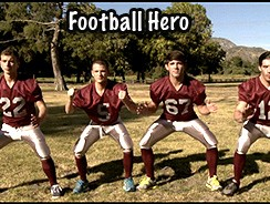 Football Hero from Gay Dvd Empire