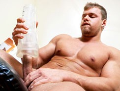 Brad Bigger He Cums from Maskurbate