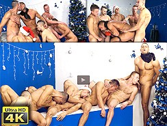 gay sex - Xmas Wank Party 2014 from William Higgins