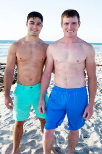 Curtis And Tanner Bareback from Sean Cody
