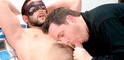 Blowing Kevin from Maskurbate