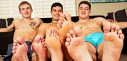 3some Pete Tanner And Forrest from Sean Cody