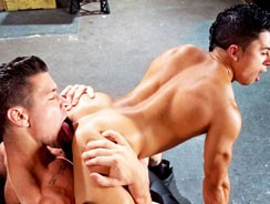 Trenton And Armond Rizzo from Raging Stallion