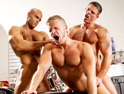 Brian Sean And Derek from Raging Stallion