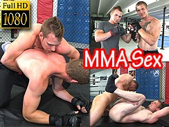 Mma Lessons Turn Into Sex from Jock Hunter