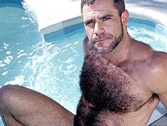 Married Daddy Bear Jeff Allen from Club Stroke