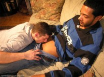 Servicing Rico from New York Straight Men