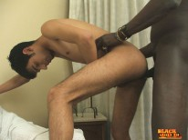 Interracial Twink Action from Black Seducer