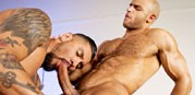 Boomer Banks And Sean Zevran from Raging Stallion