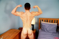 Travis Shows Us His Hairy Bod from English Lads