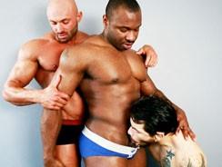gay sex - Posing For Pleasure from Next Door Ebony