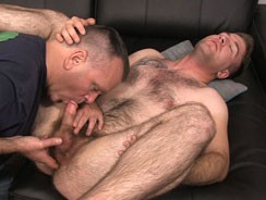 gay sex - Blowing Lance from Spunk Worthy
