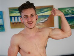 Young Straight Pup Travis from English Lads