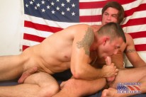 Private Brodie Fucks Private Eric from All American Heroes