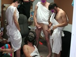 Toga Party from Dick Dorm