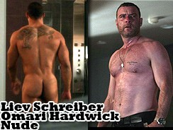 gay sex - Liev Schreiber Omari Hardwick from Mr Man