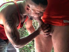 gay sex - Two Big Beefy Blokes Fuck Out from French Lads