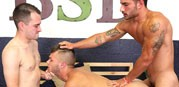 David And Vadim Dp Gage from Broke Straight Boys