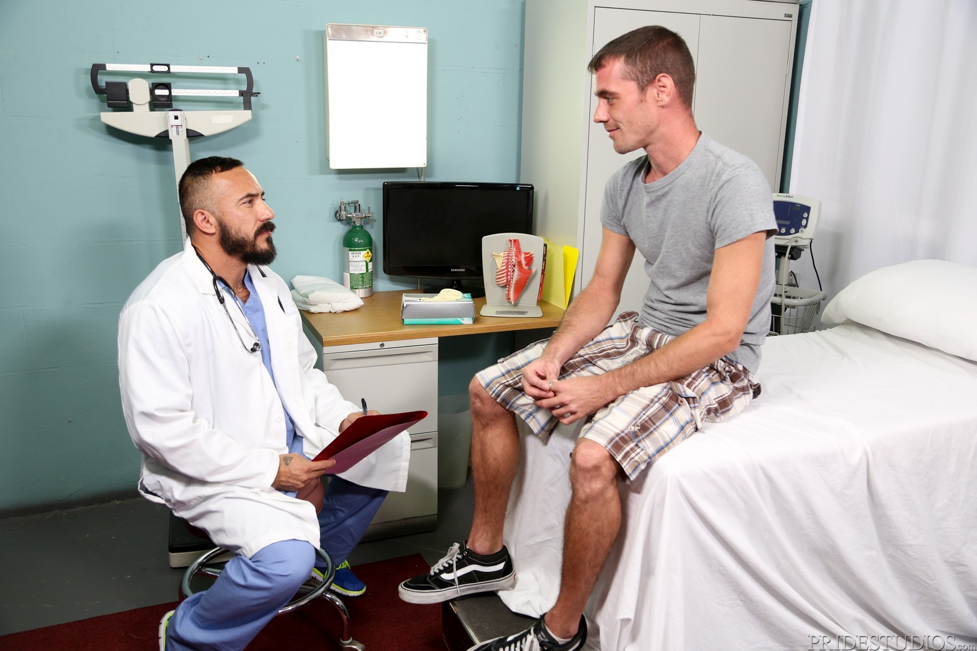 Lets Play Doctor : I Watched My Wife Being Examined