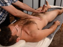 gay sex - Derek Massage from Spunk Worthy