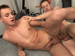 gay sex - Stud Fucked Raw On The Gym from Raw Fuck