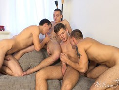 gay sex - Wank Party 8 Part 1 from William Higgins