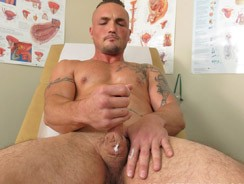 gay sex - Assistant Coach Lee from College Boy Physicals