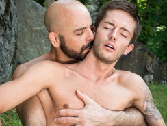 gay sex - Adam Russo And Bryce Action from Icon Male