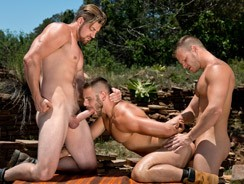 Brian Bonds Nick And Andrew from Raging Stallion